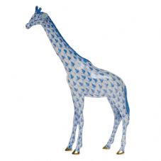 Herend Porcelain Fishnet Figurine of a Small Giraffe